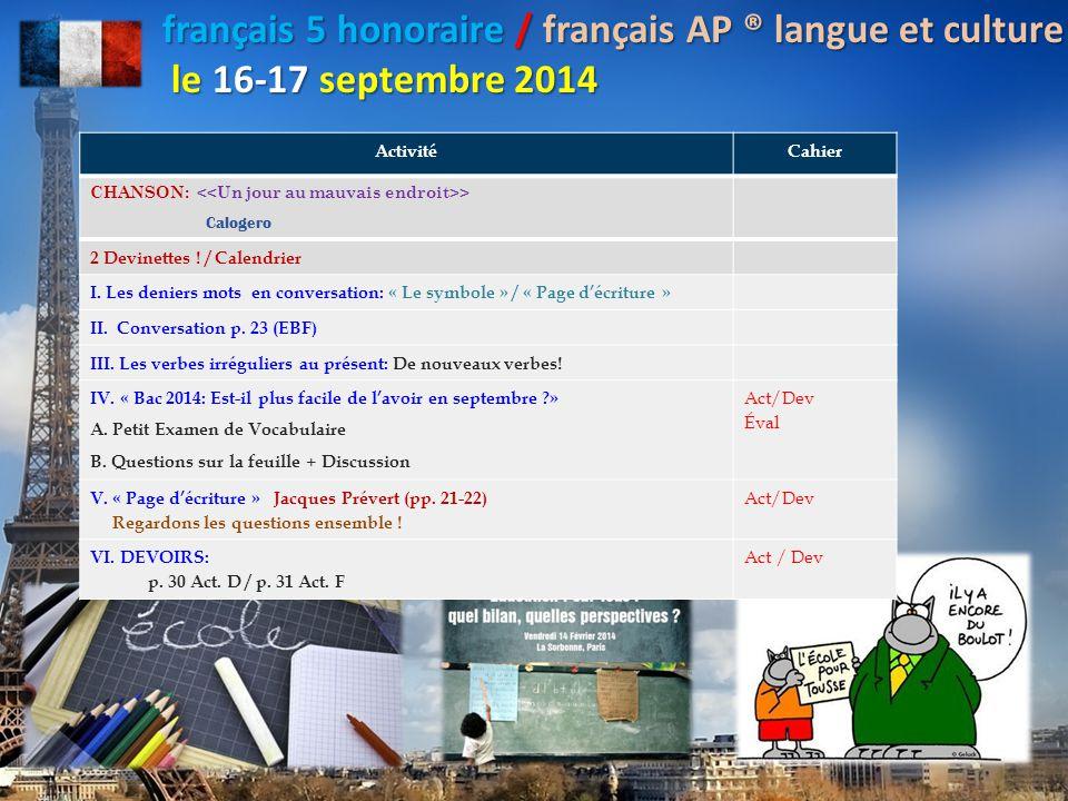 POUBELLE + DANS LA CORBEILLE! = Dr. DiNicola: Au revoir, classe!
