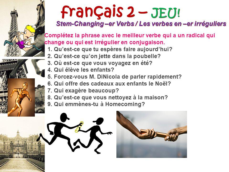 français 2 – JEU.