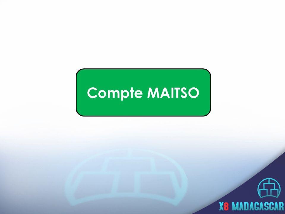 Compte MAITSO