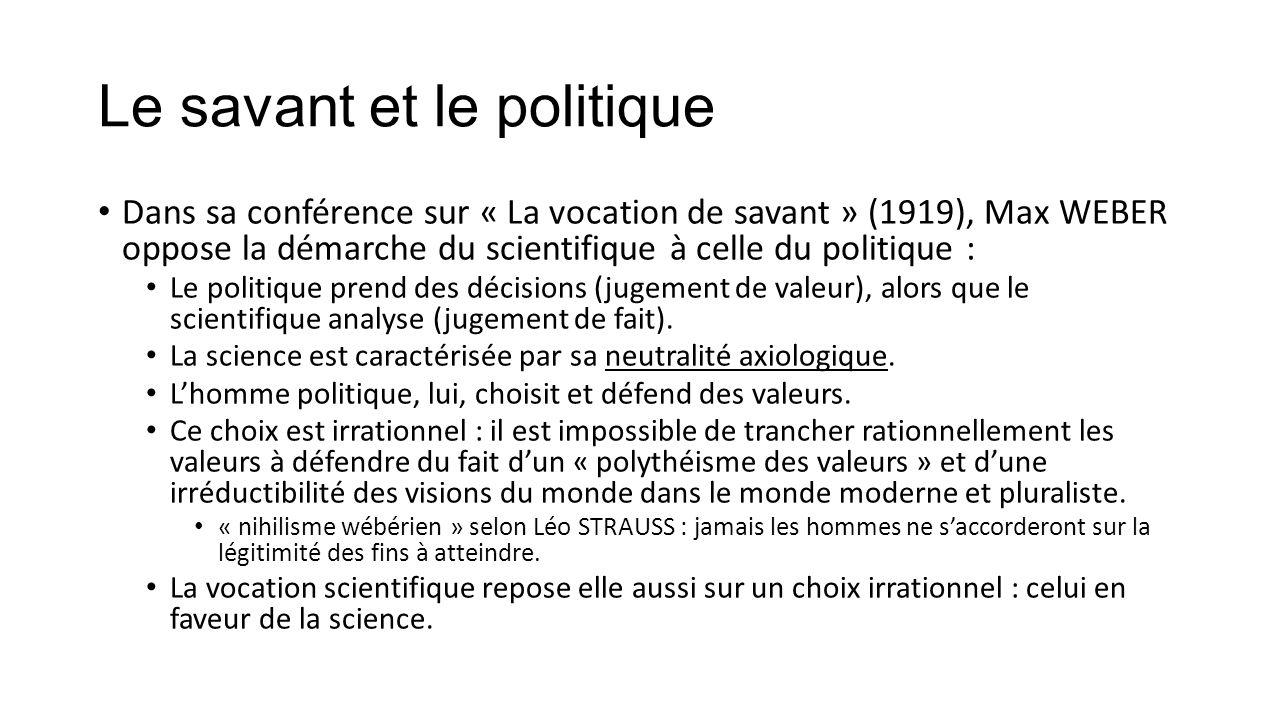 2) La politique n'est pas qu'une technique