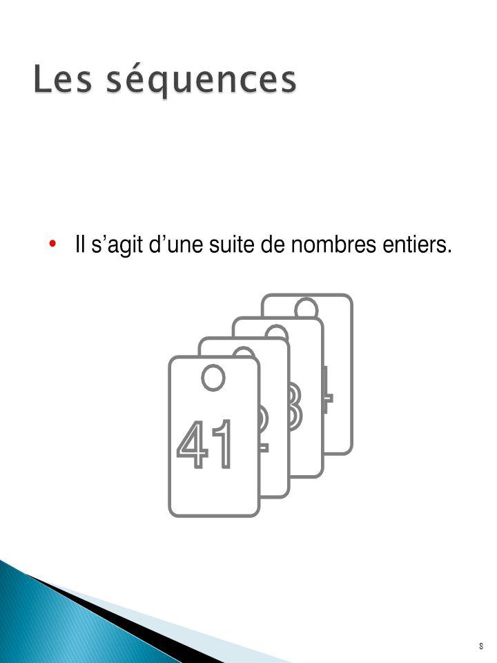  Il s agit d un objet de la base de données que l on utilise pour générer des nombres entiers qui se suivent  Pour créer une séquence: CREATE SEQUENCE Nom_Séquence [ INCREMENT BY n ] [ START WITH n ] [ MAXVALUE n | NOMAXVALUE ] [ MINVALUE n | NOMINVALUE ] [ CYCLE | NOCYCLE ] [CACHE n | NOCACHE]  Exemple: CREATE SEQUENCE seq_employe INCREMENT BY 1 START WITH 1;  Pour détruire une séquence: DROP SEQUENCE Nom_Séquence; 9