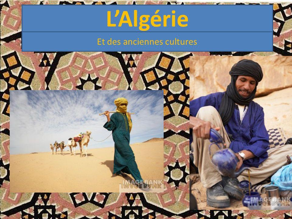 L'Algérie Et des anciennes cultures