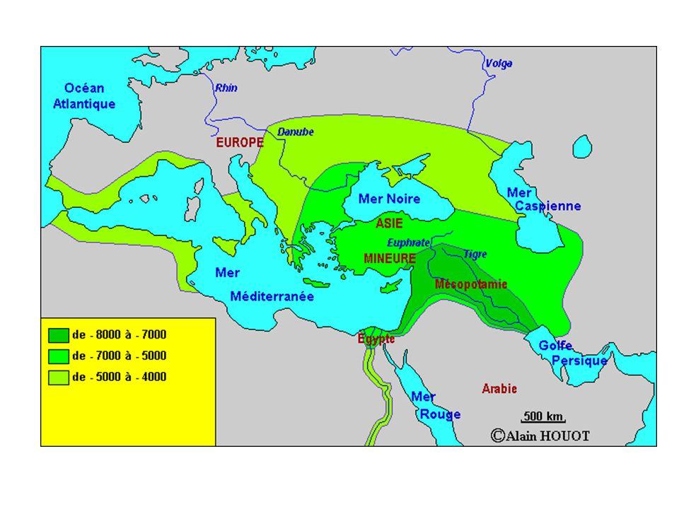 « L'étude débouche sur une carte qui situe le monde musulman médiéval par rapport à ses voisins...