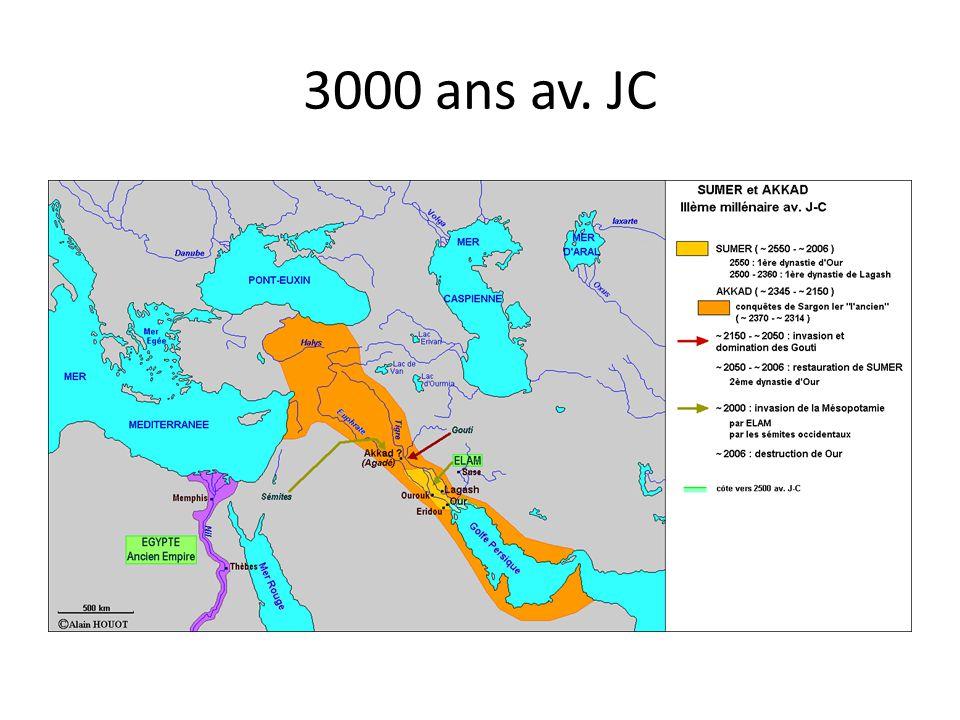 3000 ans av. JC