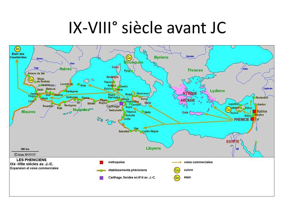 IX-VIII° siècle avant JC