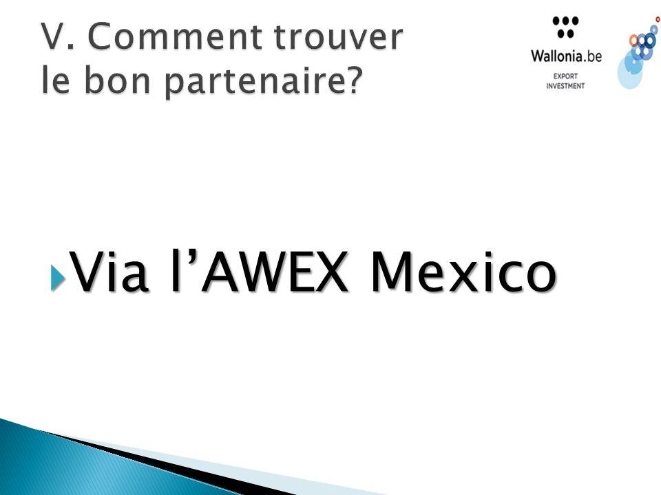  Via l'AWEX Mexico