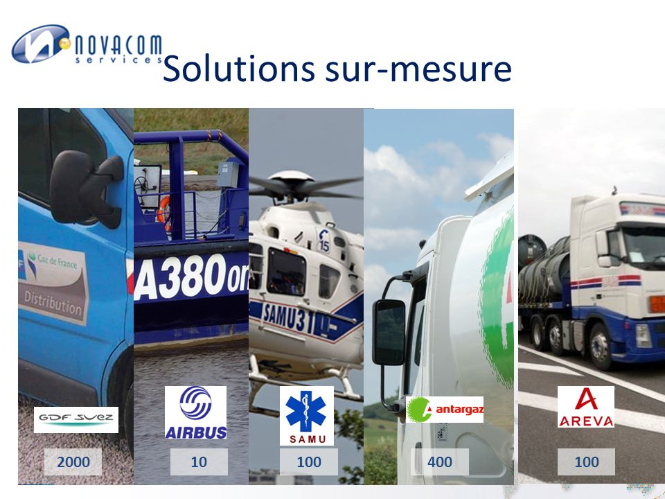 Solutions sur-mesure Page 13 200010100400100