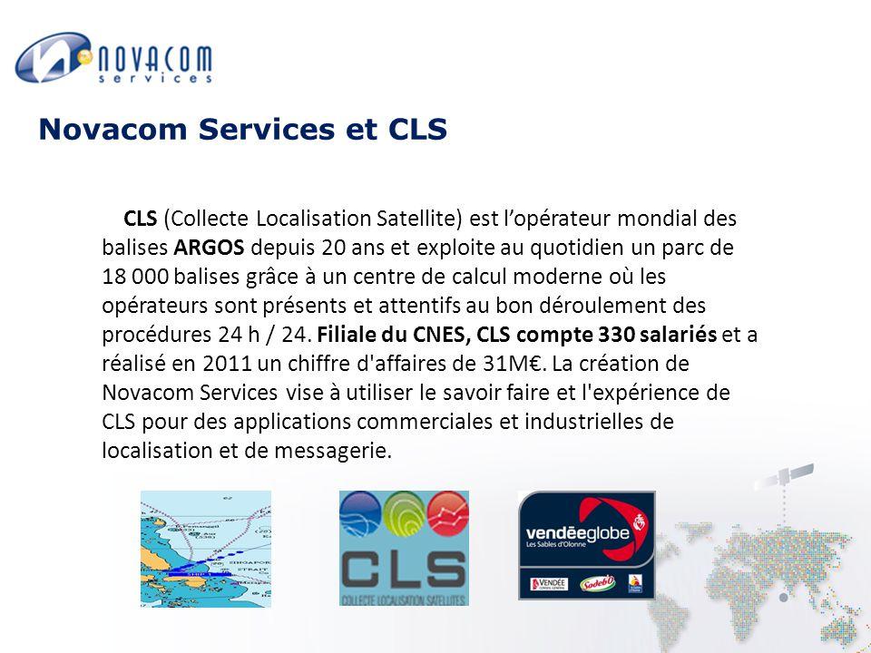 CLS (Collecte Localisation Satellite) est l'opérateur mondial des balises ARGOS depuis 20 ans et exploite au quotidien un parc de 18 000 balises grâce à un centre de calcul moderne où les opérateurs sont présents et attentifs au bon déroulement des procédures 24 h / 24.