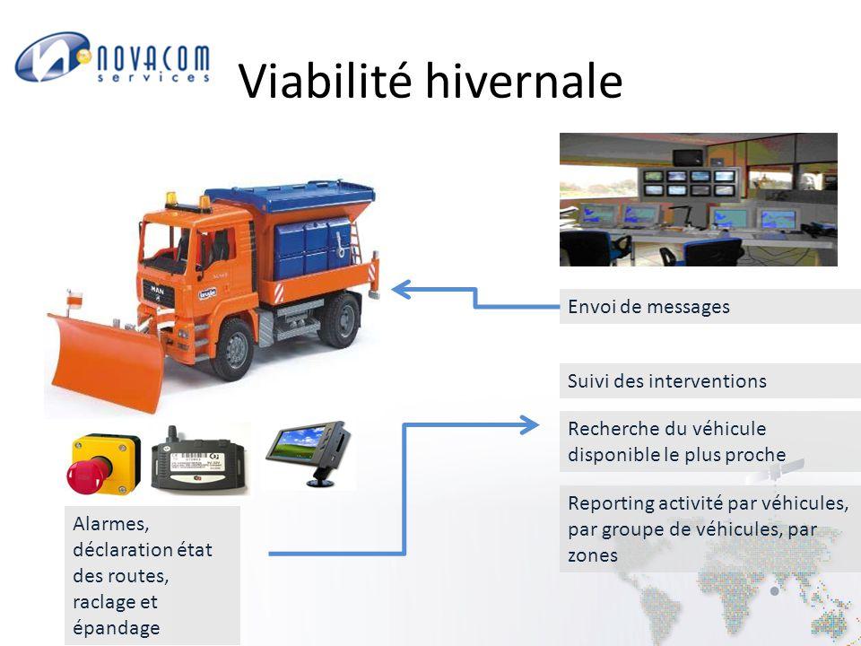 Consultation des données d'un véhicule avec filtre sur le statut ou état du bouton alerte