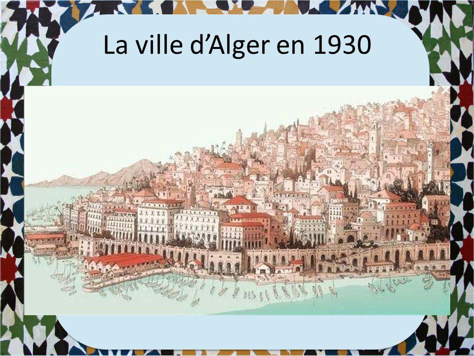 La ville d'Alger aujourd'hui
