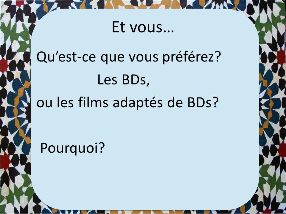 De la BD au film…
