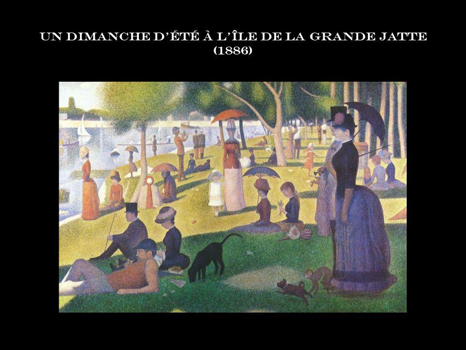 Un Dimanche d'été à l'Île de la Grande Jatte (1886)