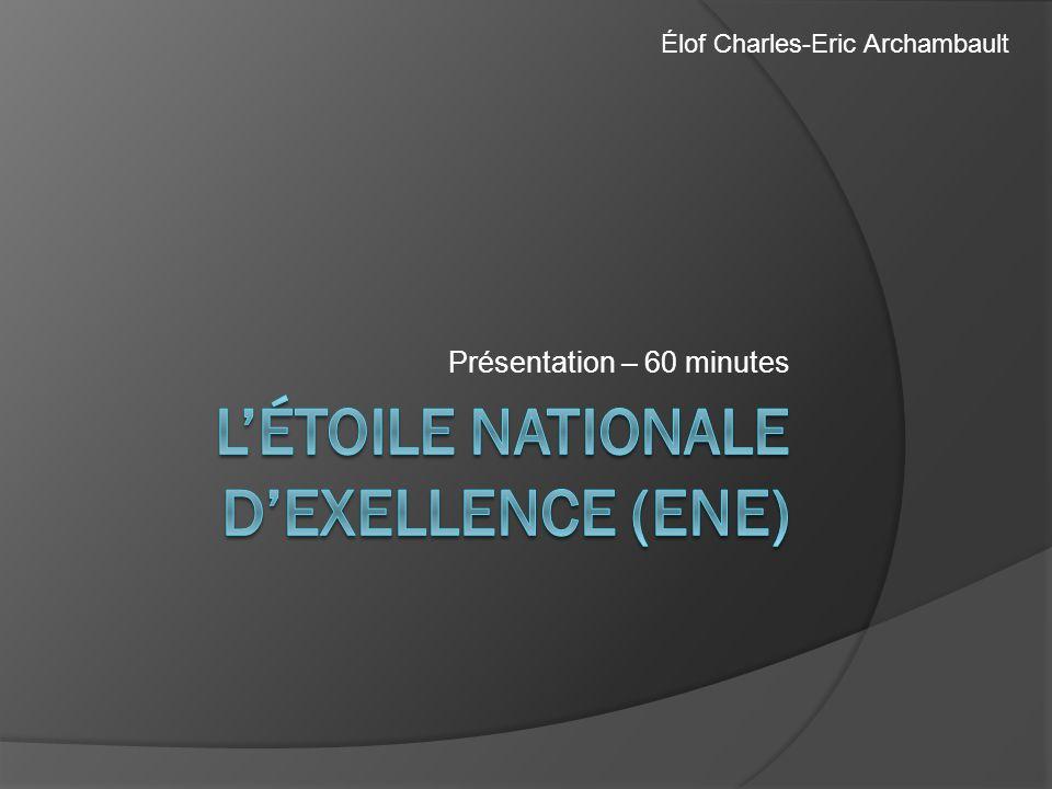 Présentation – 60 minutes Élof Charles-Eric Archambault