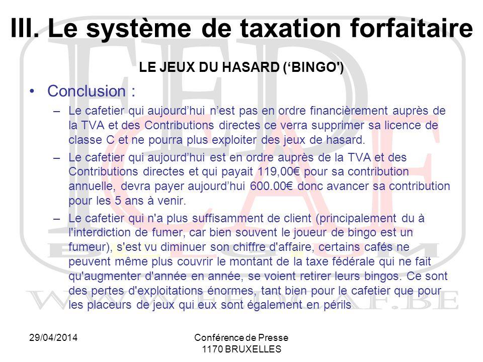 29/04/2014Conférence de Presse 1170 BRUXELLES III.
