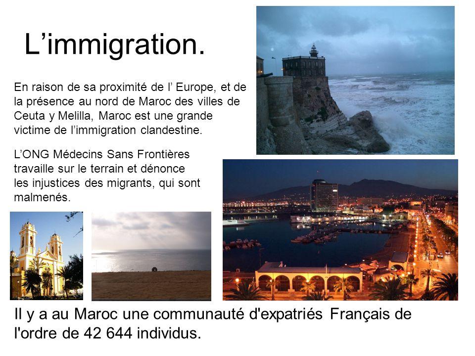 L'immigration.