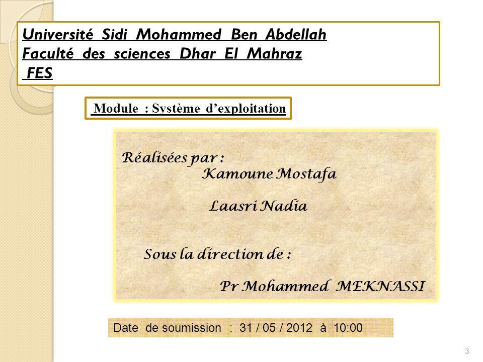II - Cas LIMITES 24 # date de modification read mt until [ .