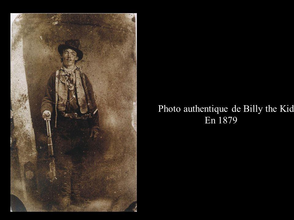 Photo authentique de Billy the Kid En 1879
