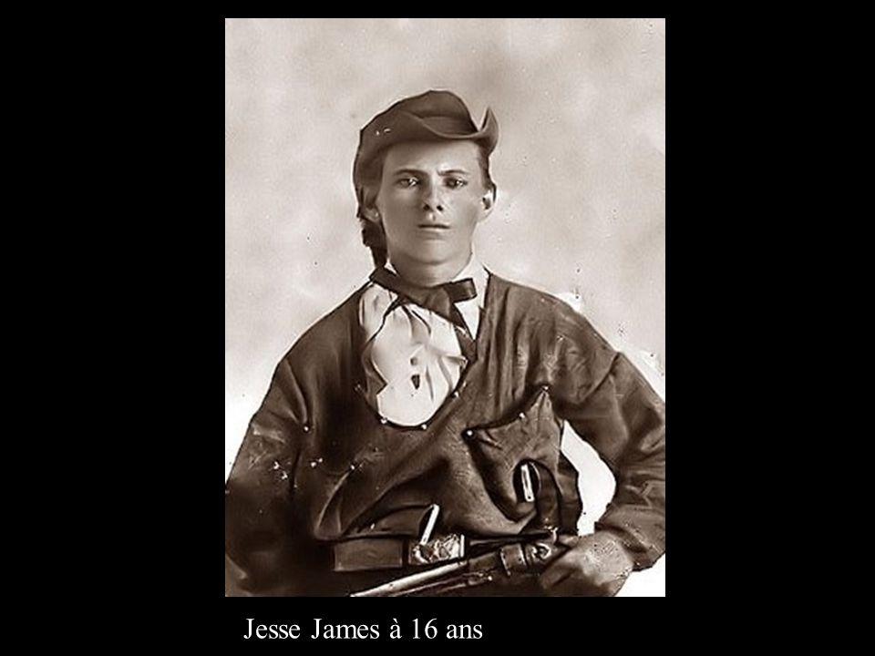 Jesse James à 16 ans