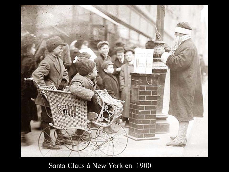 Santa Claus à New York en 1900