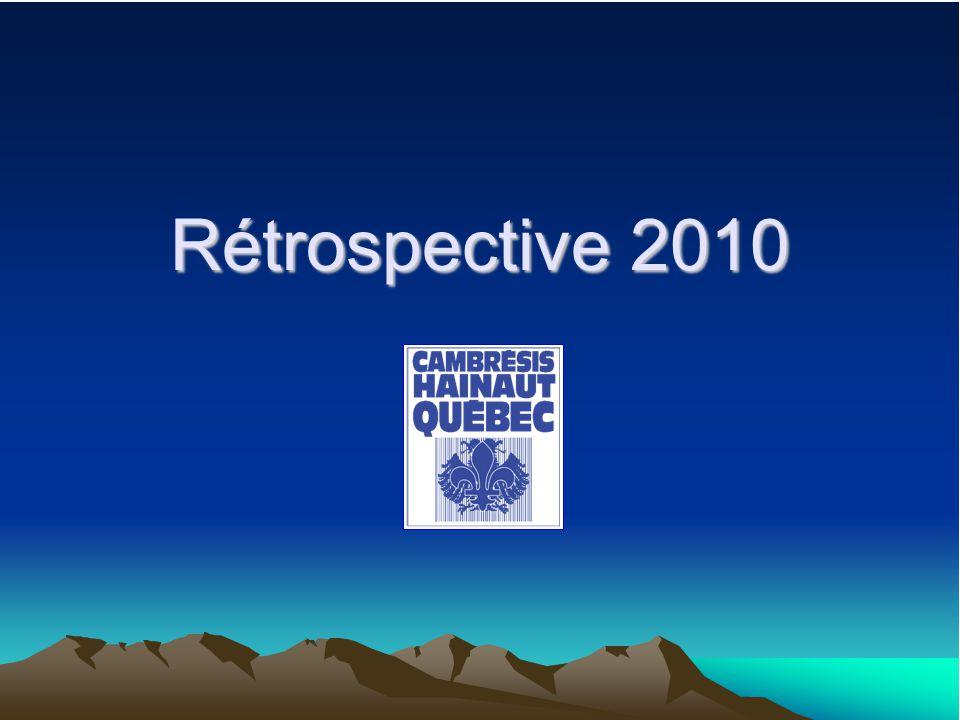 Rétrospective 2010