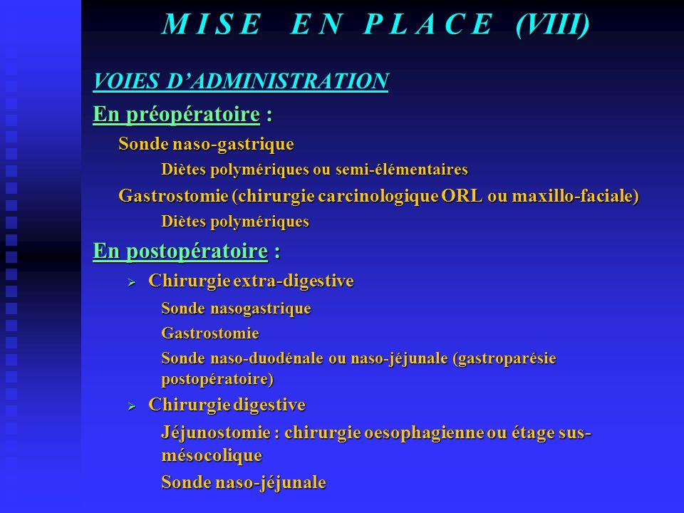 M I S E E N P L A C E (VII) LES DIETES ALIMENTAIRES (Suite) DIETES PARTICULIERES Selon les pathologies  Insuffisance respiratoire, hépatique, rénale