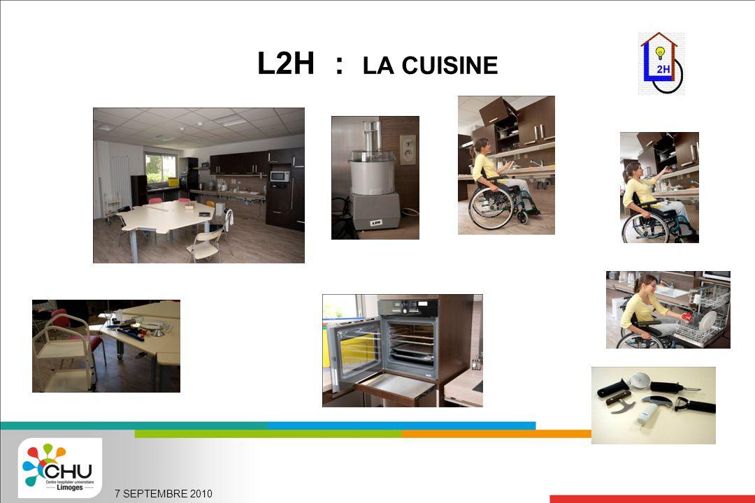 L2H : LA CUISINE 7 SEPTEMBRE 2010