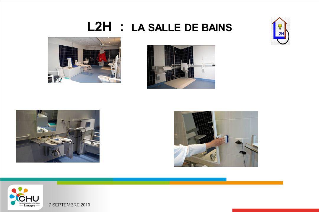 L2H : LA SALLE DE BAINS 7 SEPTEMBRE 2010