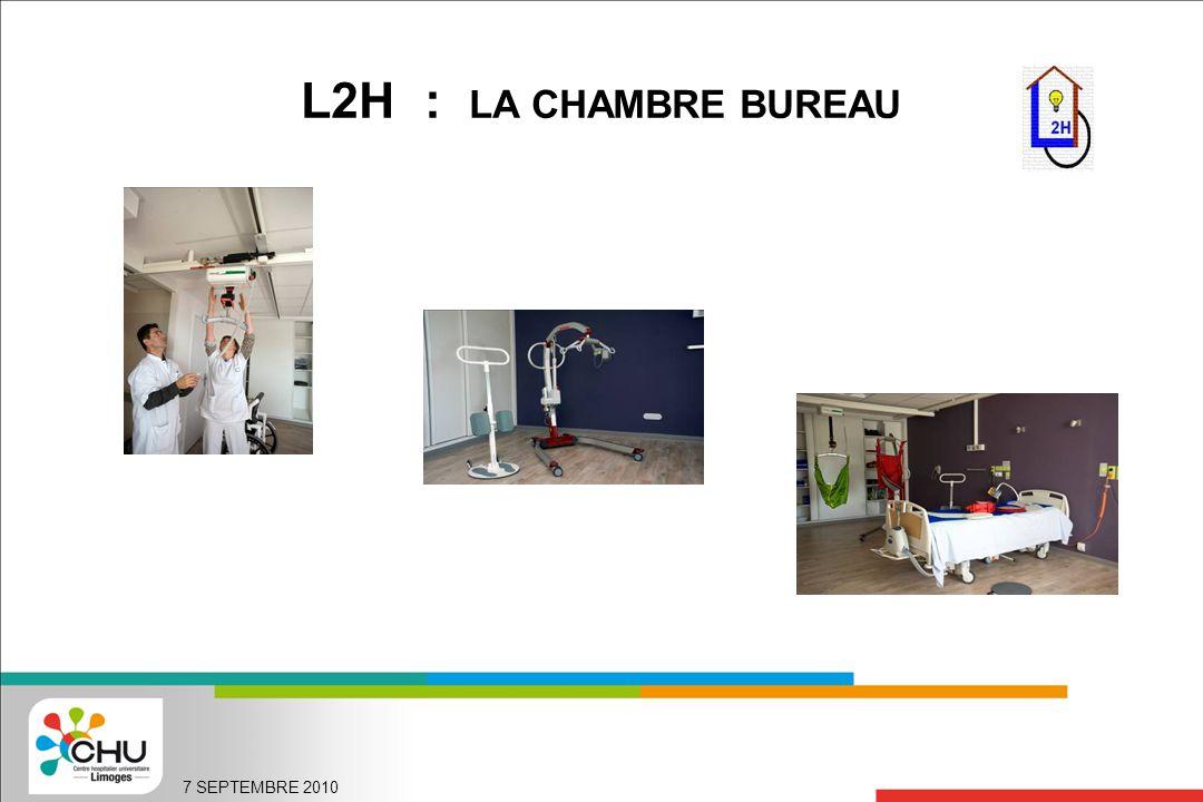 L2H : LA CHAMBRE BUREAU 7 SEPTEMBRE 2010