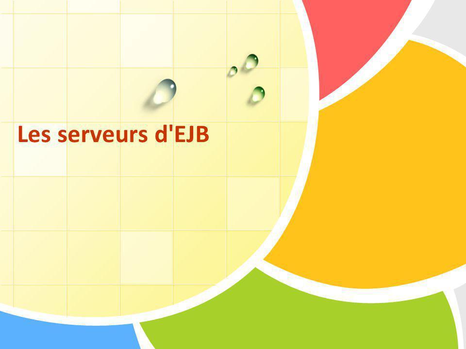 Les serveurs d'EJB