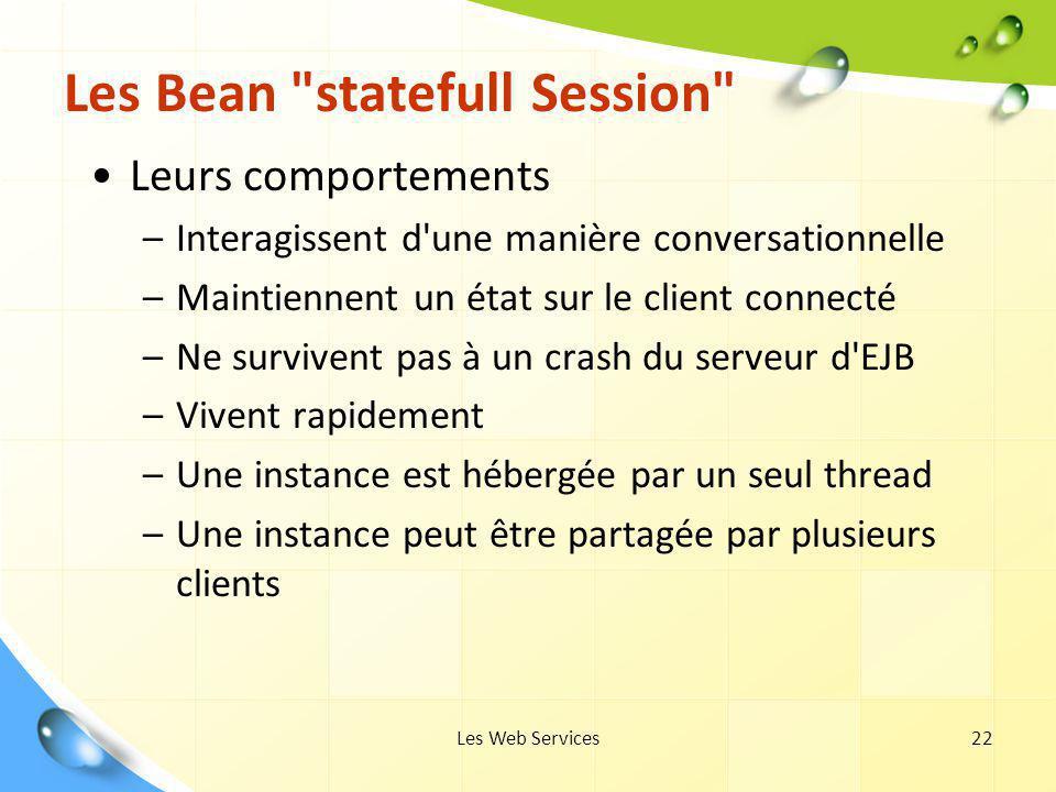 Les Web Services22 Les Bean