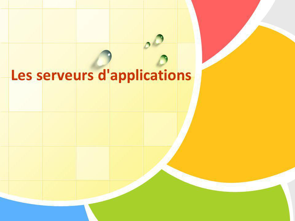Les serveurs d'applications