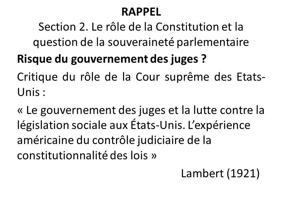 RAPPEL Section 2.