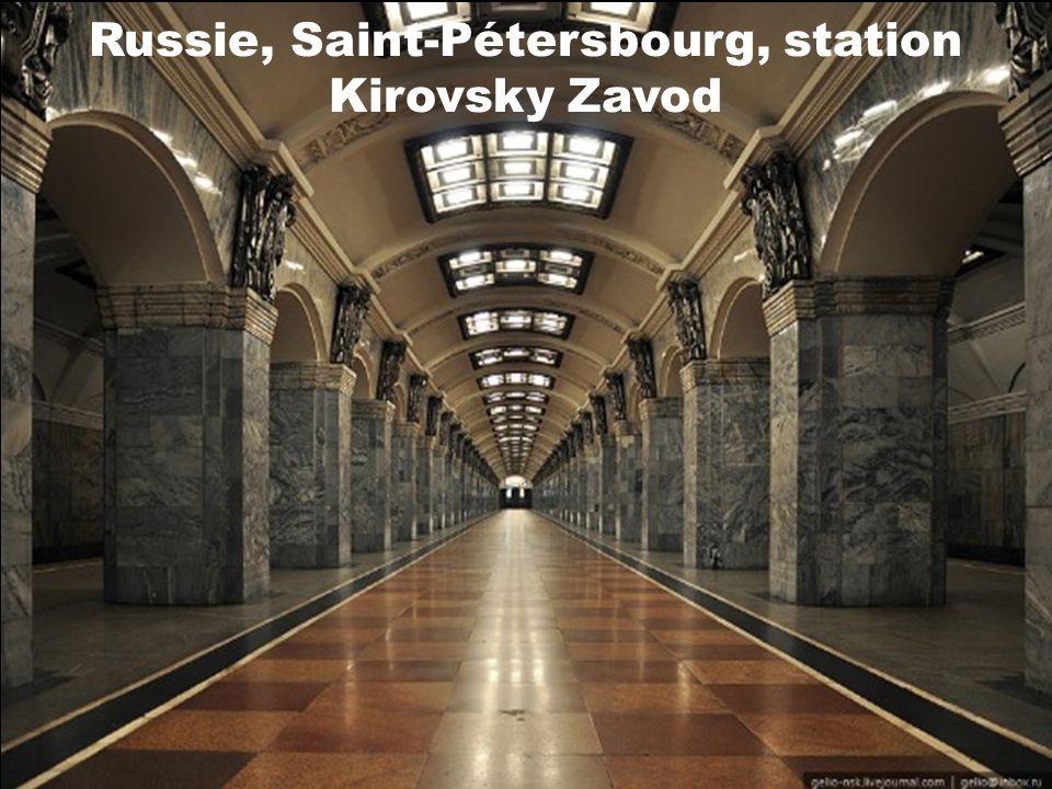 Russie, Moscou, station Arbatskaya