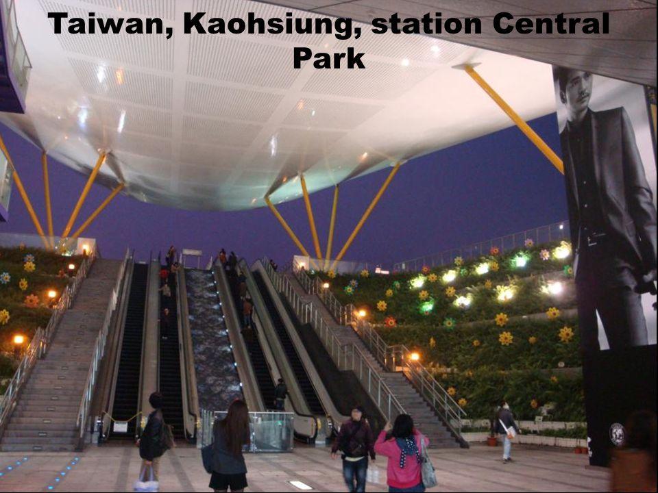 Taiwan Kaohsiung, station Formosa boulevard