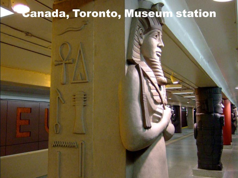 Canada, Toronto, Museum station