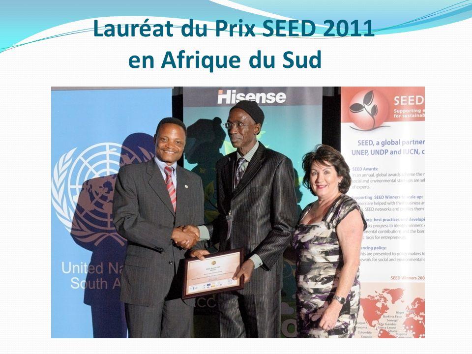 Lauréat du Prix SEED 2011 en Afrique du Sud