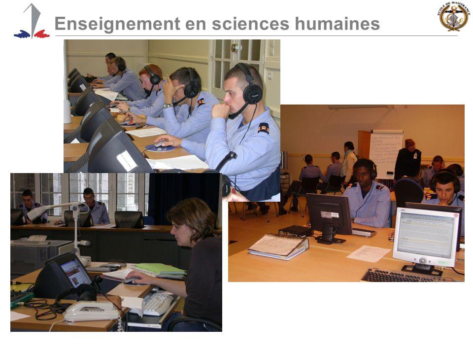 Enseignement en sciences humaines