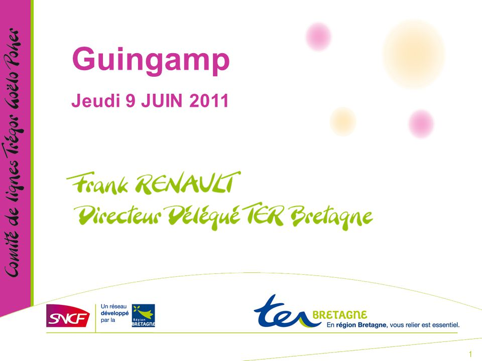 1 Guingamp Jeudi 9 JUIN 2011