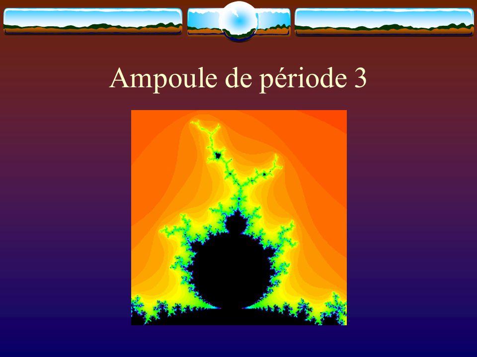 Ampoule de période 3