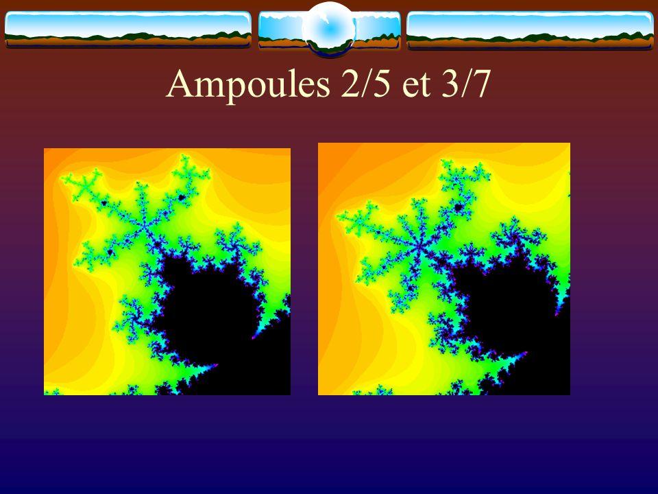 Ampoules 2/5 et 3/7