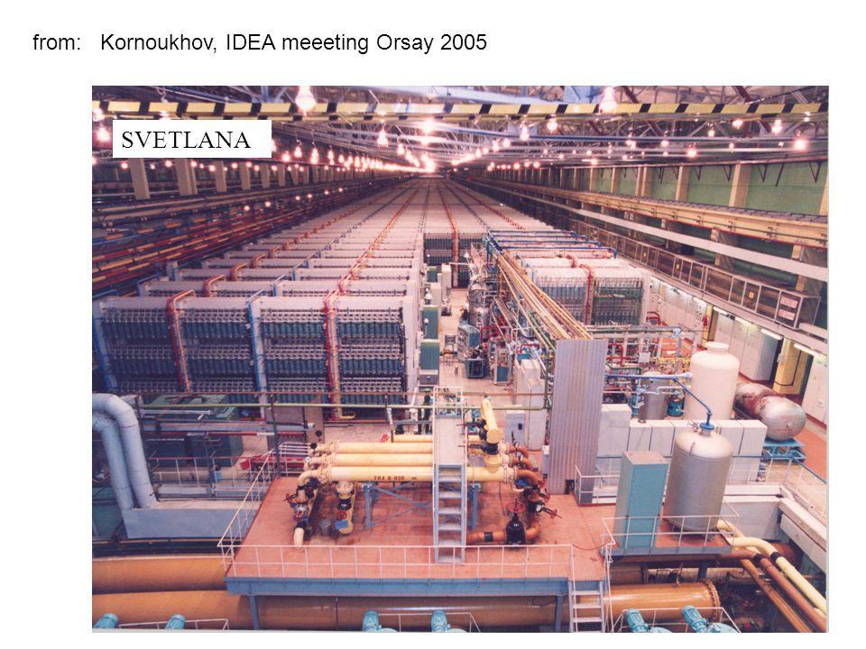 SVETLANA from: Kornoukhov, IDEA meeeting Orsay 2005