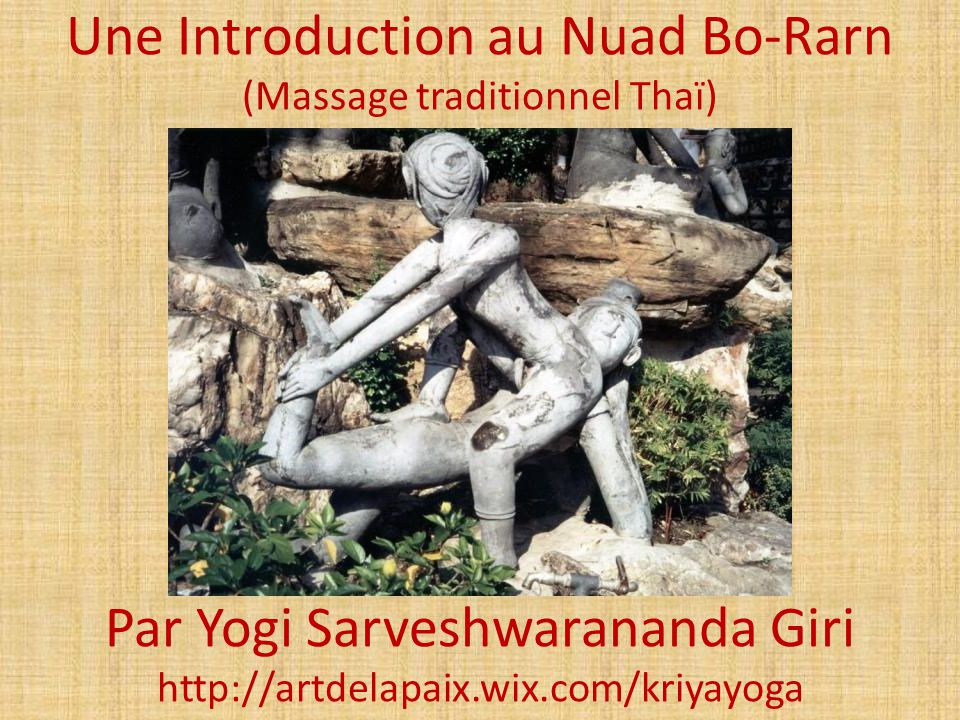 Le Dr.Shivago Komarpaj, le médecin personnel du Bouddha, fondateur du massage Thaï, 500 ans av.