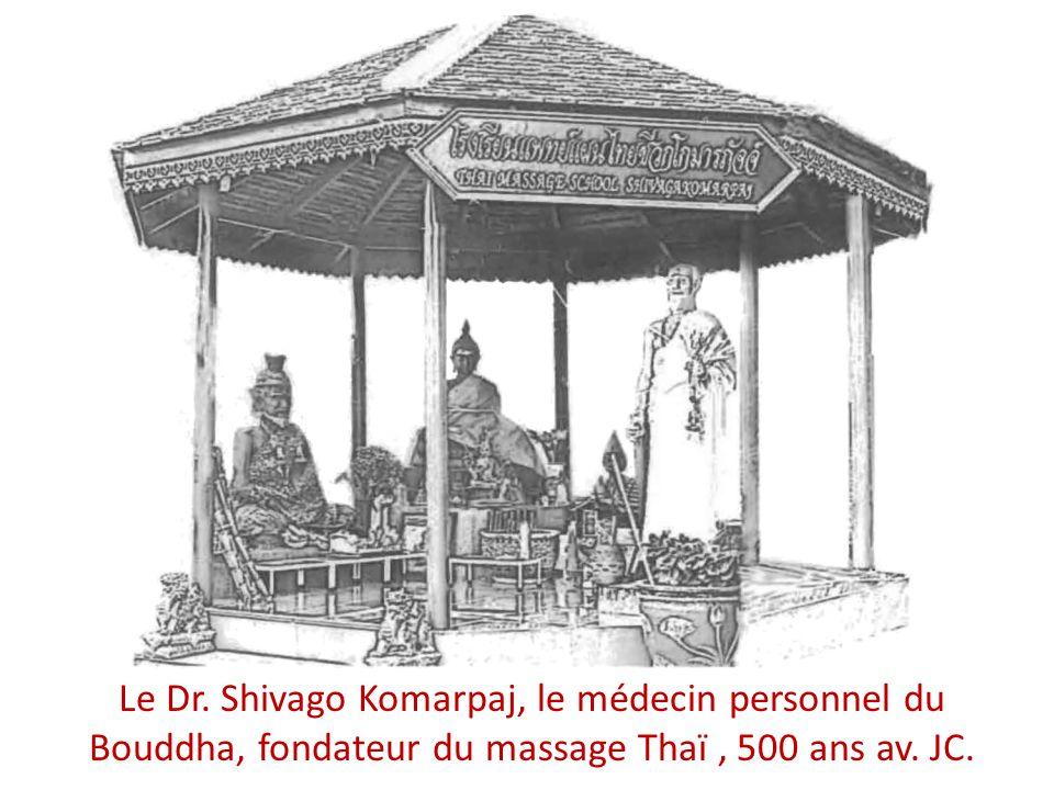 Le Dr. Shivago Komarpaj, le médecin personnel du Bouddha, fondateur du massage Thaï, 500 ans av. JC.