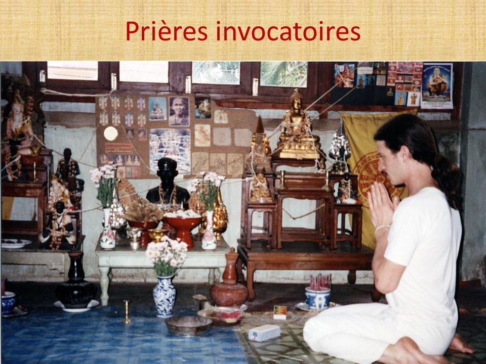Prières invocatoires