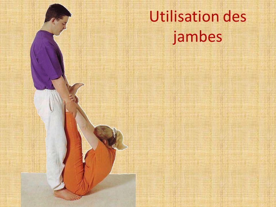 Utilisation des jambes
