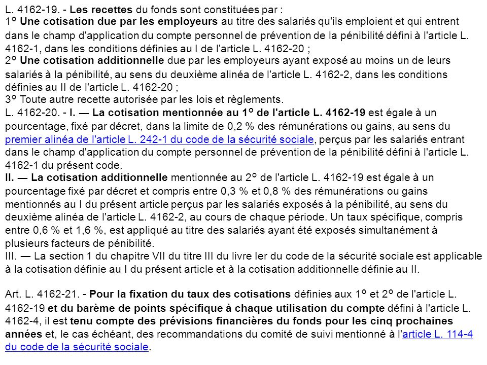 Matinée technique– Les ICPE - 20 mars 2014 8 Les cotisations L. 4162-19. - Les recettes du fonds sont constituées par : 1° Une cotisation due par les