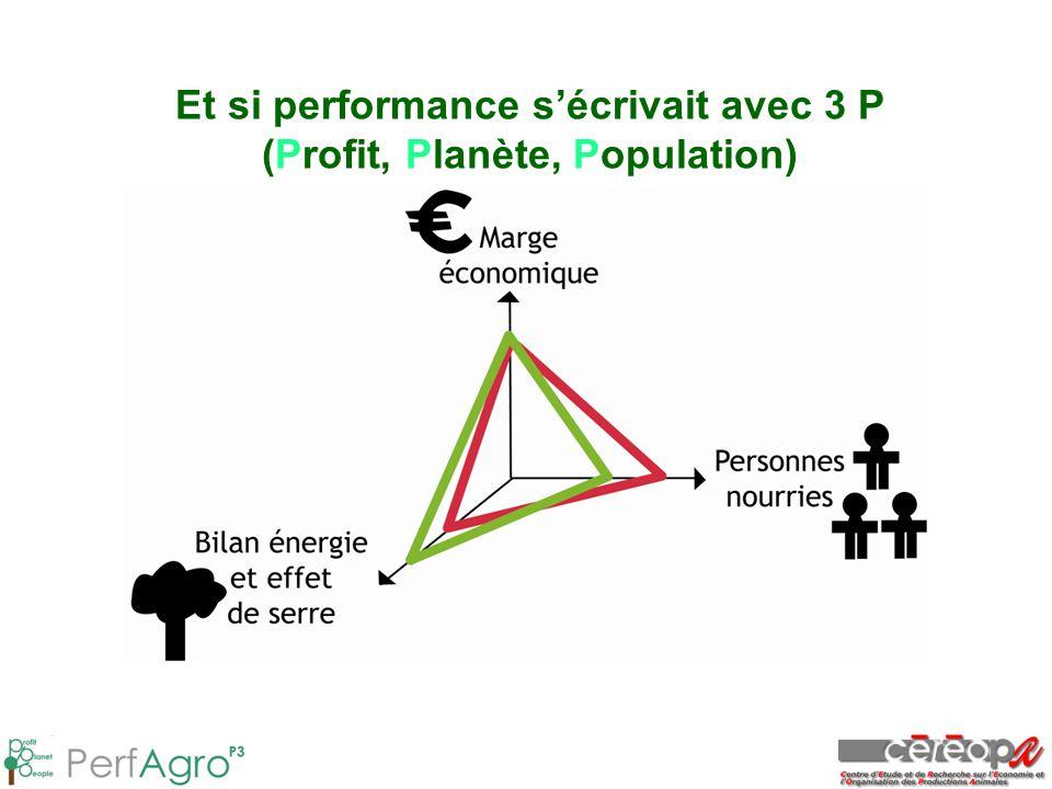 Et si performance s'écrivait avec 3 P (Profit, Planète, Population)