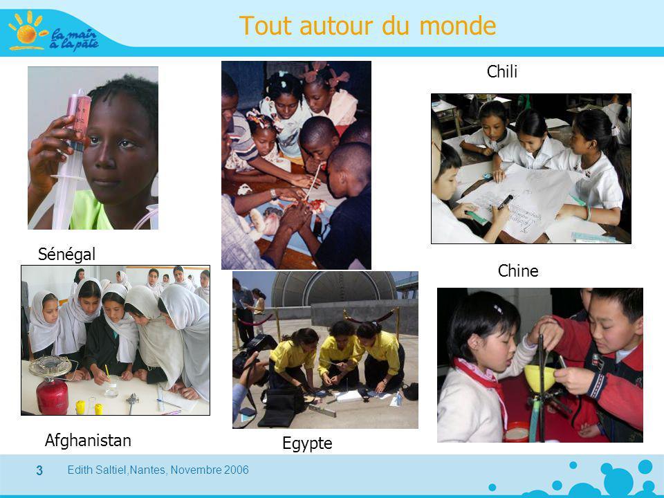 Edith Saltiel,Nantes, Novembre 2006 3 Tout autour du monde Sénégal Afghanistan Egypte Chili Chine
