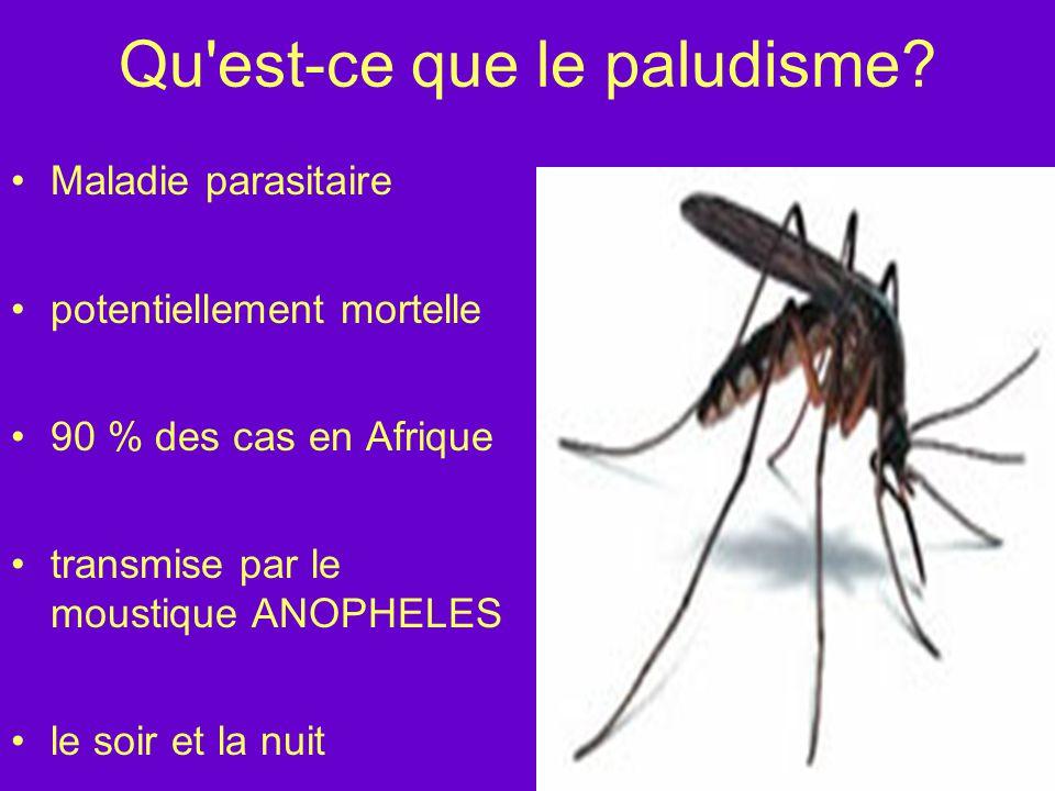 Epidémiologie Le Parasite Alphonse Laveran : Plasmodium – Algérie - 1880 1 protozoaire avec 4 espèces classiques: –P.