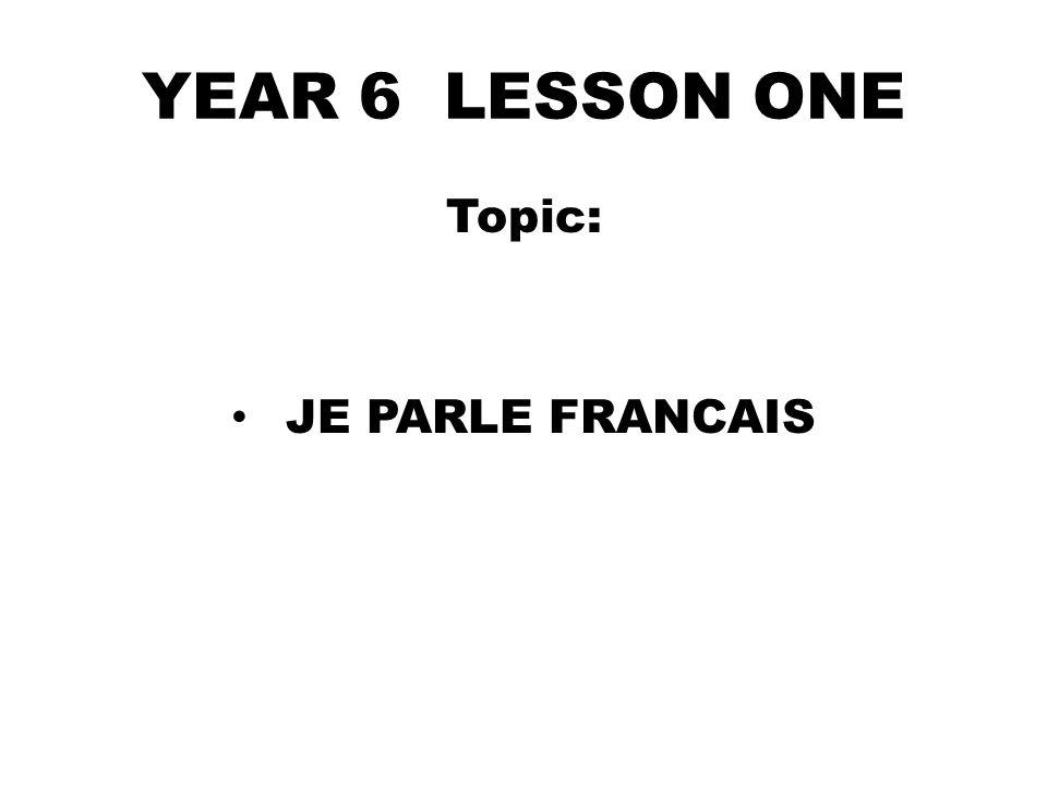 4- Tu parles quelle(s) langue(s)?/ What language do you speak.